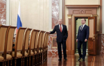 Премьер-министр Медведев и все правительство РФ ушло в отставку
