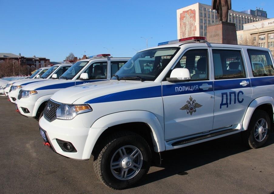 Ртищевскому району вручили новые патрульные машины