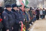 У памятника воинам-интернационалистам в Ртищеве состоялся митинг