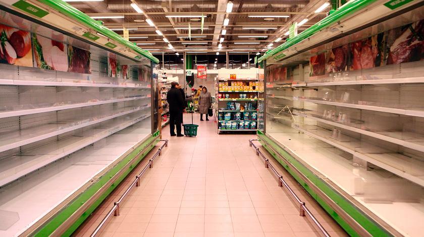 Региональная власть заявила о достаточном количестве продуктов в области