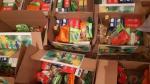 Ртищевские школьники получили продуктовые наборы