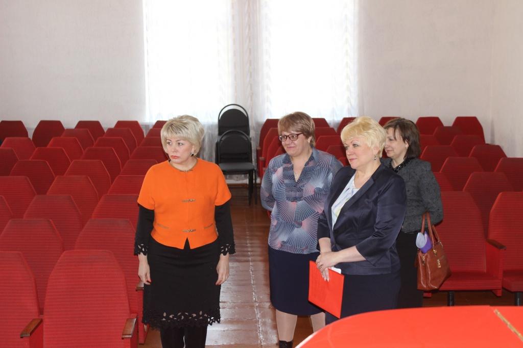 Ртищево посетила министр культуры Саратовской области