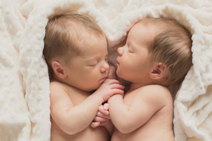 В ЗАГСе выдали свидетельство о рождении двойни