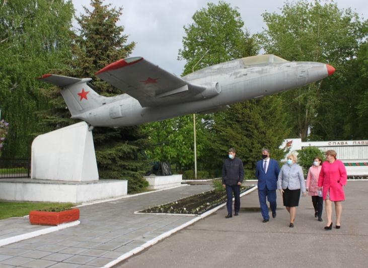 Ртищево посетил замминистра по делам территориальных образований области