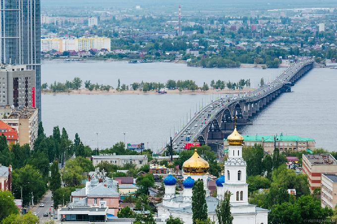 Радаев назвал Саратов лучшим городом в мире