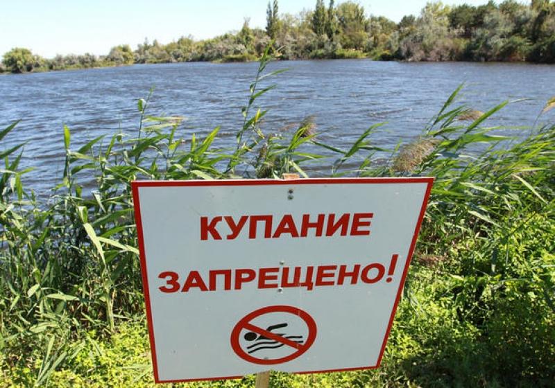 В области нет ни одного официально открытого места для купания