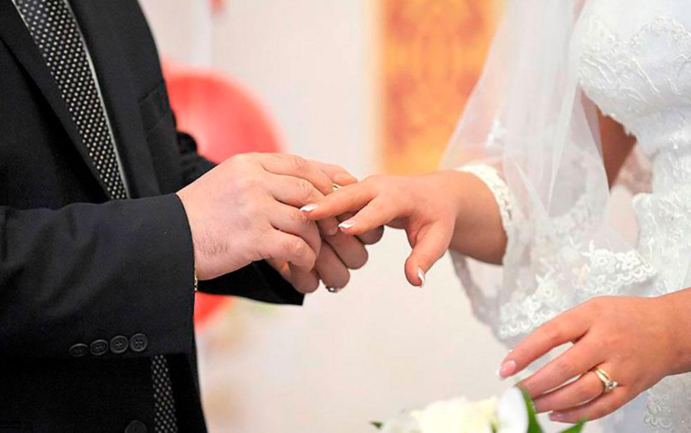 ЗАГСам разрешили начать торжественные регистрации брака