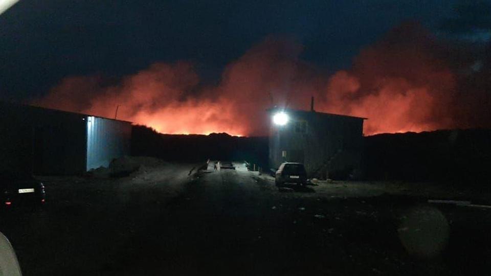 Жители трех сел Ртищевского района задыхаются от дыма со свалки ТБО
