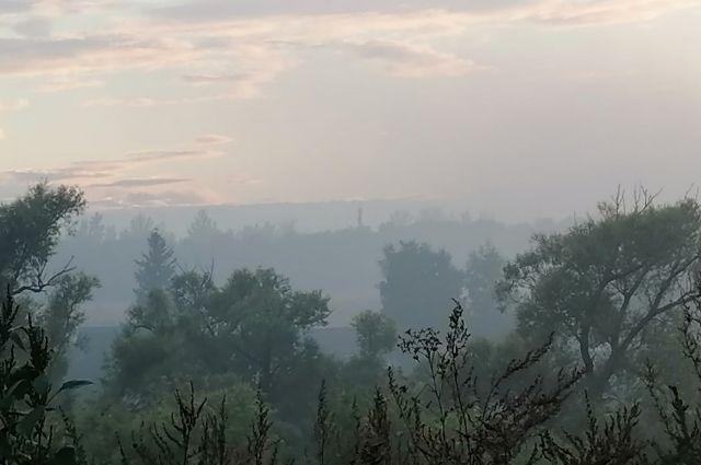 Администрация района прокомментировала ситуацию с горящим полигоном ТБО