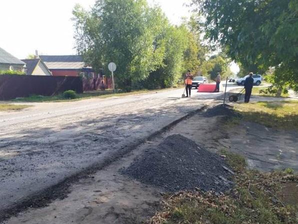 Администрацию не устроило качество ремонта дорожного покрытия
