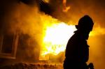 Рано утро в Ртищеве горел дом на ул. Питомной