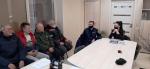 Инспектор ГИБДД провела беседу с водителями автобусов на предприятиях