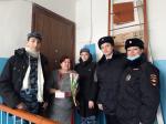 Полиция, общественники и дети поздравили женщин-ветеранов с 8 Марта