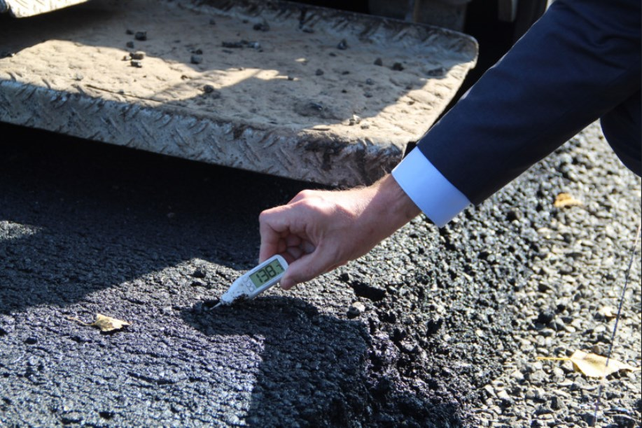 Дорожной фирме не заплатили за некачественный ремонт дороги к с. Владыкино