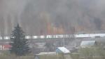 В Ртищеве произошел природный пожар