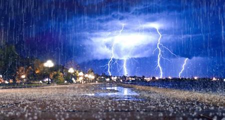 Предстоящие выходные будут дождливыми и прохладными