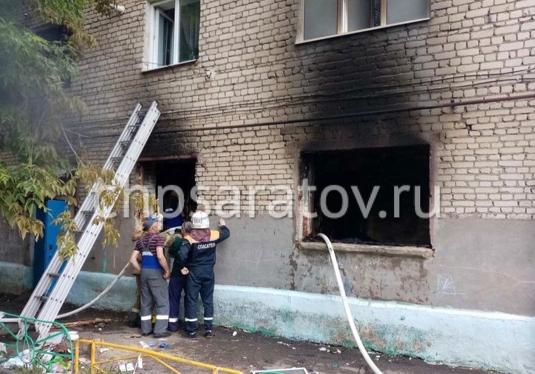 На ул. Рахова прогремел взрыв в жилом доме