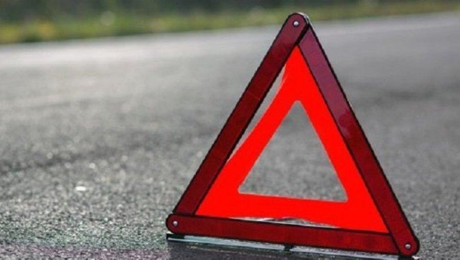 """Пассажирка пострадала в перевернувшейся на трассе """"двенашке"""""""