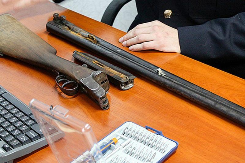 Сельчанин получил срок за хранение оружие, боеприпасов и взрывчатых веществ