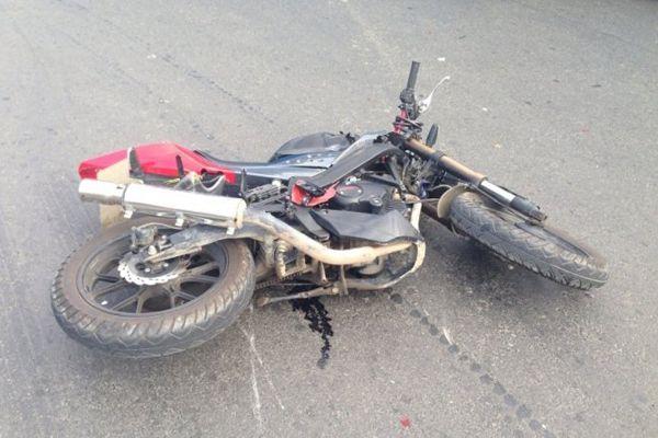 Подросток на мопеде спровоцировал ДТП и попал в больницу