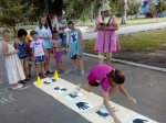 По выходным в парке культуры и отдыха проходят игровые программы для детей