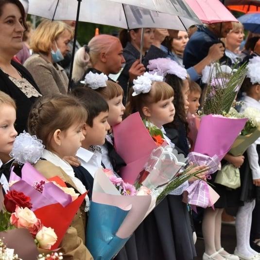 В Ртищевском районе прошли школьные линейки