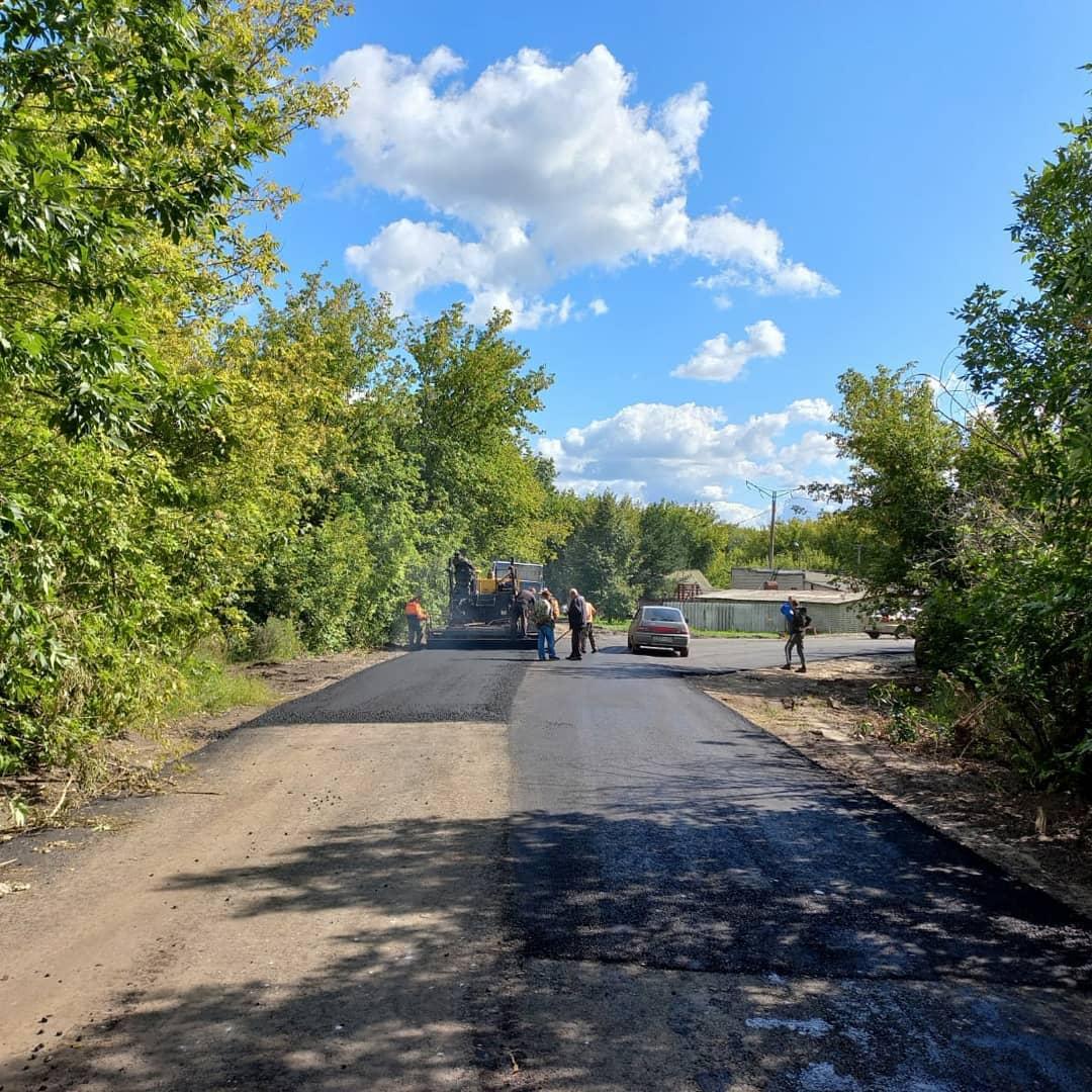 Завершены работы по укладке асфальта на ул. Образцова