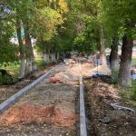 В Ртищеве ведется ремонт тротуаров