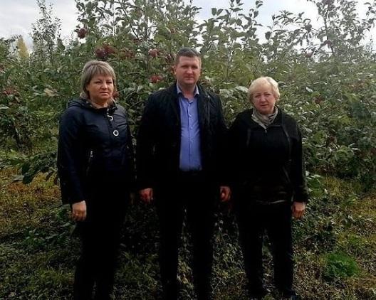 Представители минсельхоза посетили «НПГ «Сады Придонья»