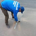 Специалисты проверят качество уложенного в Ртищеве асфальта