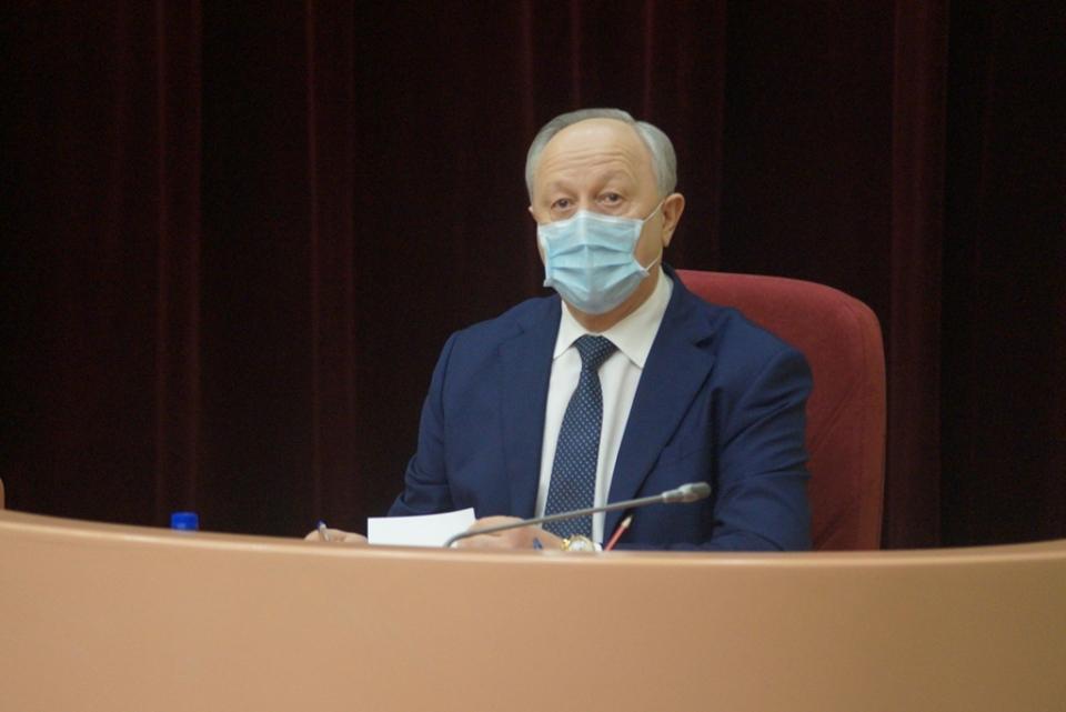 Валерий Радаев рассказал, какую зарплату получает на посту губернатора